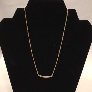 NWOT gold bar necklace from Lia Sophia